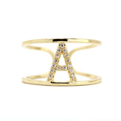 Sparkle Allure Adjustable Gold A Band