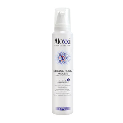 Aloxxi Strong Hold Mousse - 6.7 oz.