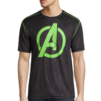 Avengers Short-Sleeve Active Tee