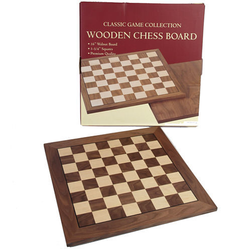 Walnut Wood Chessboard-16 W 1.75 Squares
