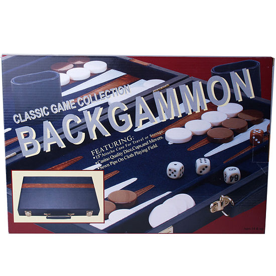 15 Attache Backagammon--Blue