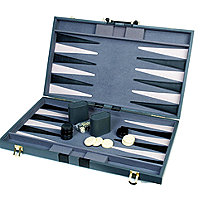 26e798d25c552 18 Attache Tournament Backgammon--Gray