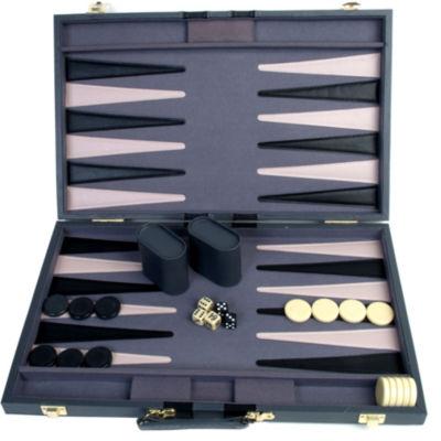 21 Attache Tournament Backgammon--Gray