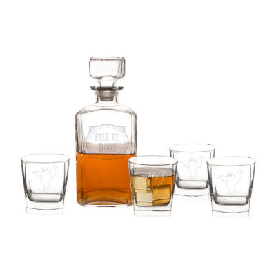 Cathy'S Concepts Full Of Boos 5-Pc. Decanter Set