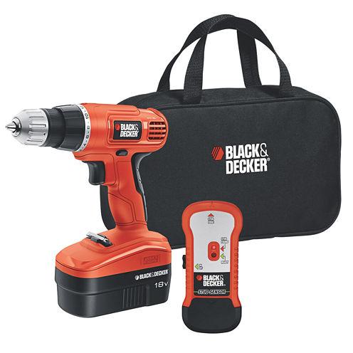 Black & Decker 18-Volt Drill with Stud Sensor