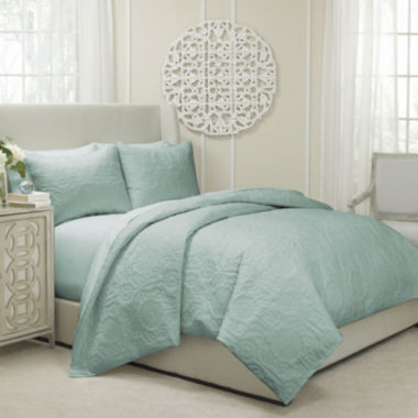 Vue™ Barcelona 3-pc. Quilted Coverlet/Duvet Set