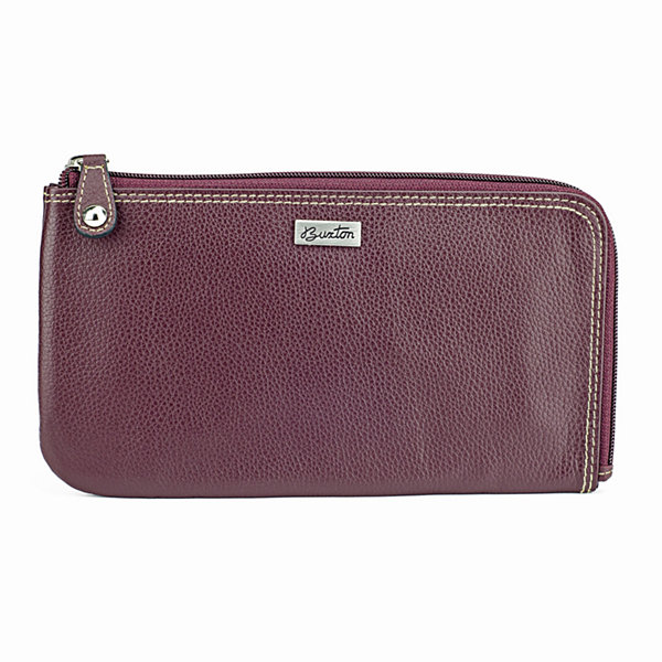 Buxton Wescott RFID Blocking Zip Around Wallet
