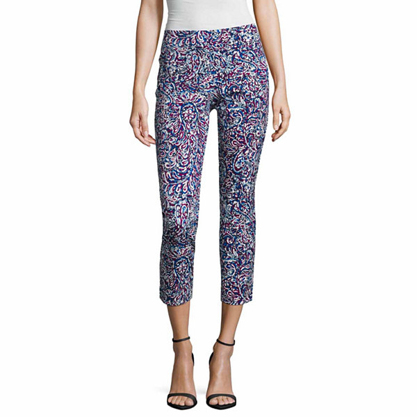 Liz Claiborne Cropped Pants - Tall