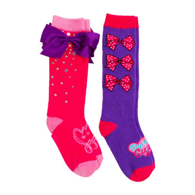 JOJO Siwa 2 Pair Knee High Socks