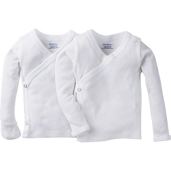 Gerber Size Newborn Baby Unisex Long Sleeve Kimono