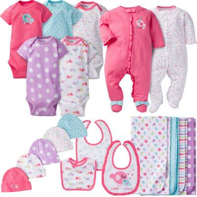 Gerber 19-Pc. Layette Gift Set-Baby Girls