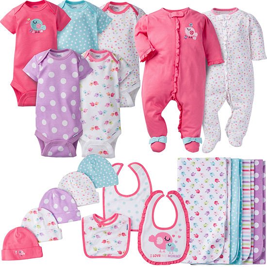 Gerber 19-Pc. Baby Gift Set-Baby Girls