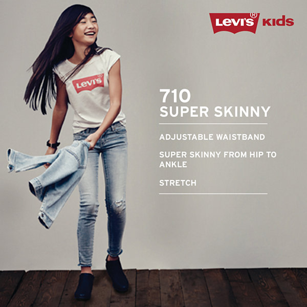 Levi's® 710™ Super Skinny Ankle-Length Jeans - Girls 7-16