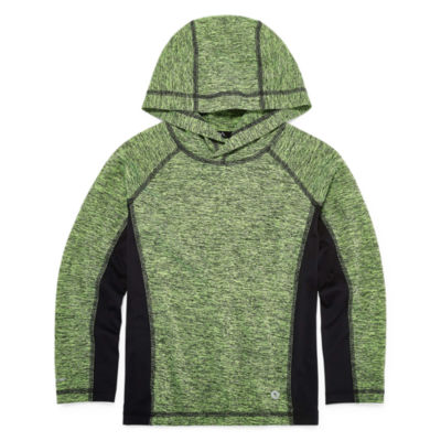 Xersion Long Sleeve Hooded Neck T-Shirt-Preschool Boys