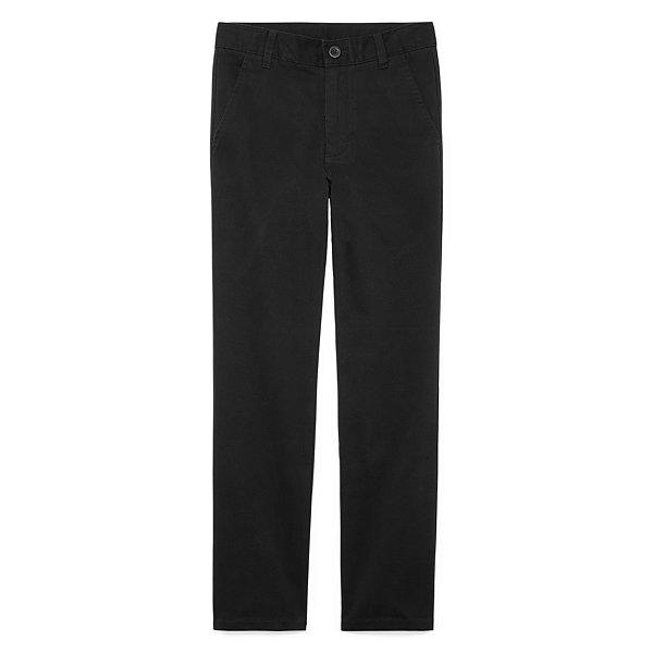 IZOD® Boys 4-20 Stretch Flat Front Pant - Slim fc3e148dc