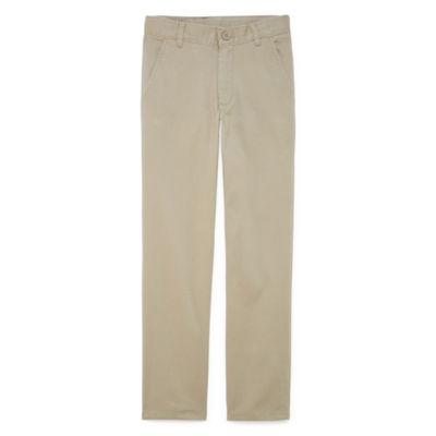 IZOD Little & Big Boys Flat Front Pant