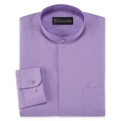 D'Amante Modern Long Sleeve Woven Dress Shirt