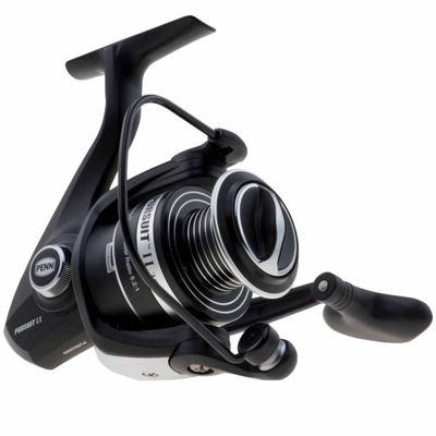 "Penn Pursuit II Spinning Reel Reel 4000 5.2:1 GearRatio 28"" Retrieve Rate 13 lb Max Drag Ambidextrous Boxed """
