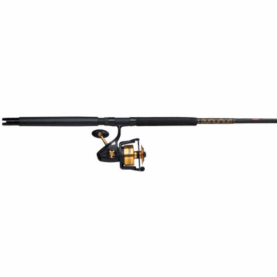 Penn Spinfisher V Spinning Combo 8500 4.7:1 Gear Ratio 7' 1pc Rod 20-40 lb Line Rate Heavy Power Fast Action