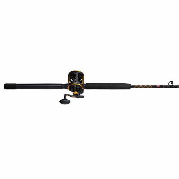 "Penn Squall Lever Drag Conventional Combo 20lb MaxDrag 6'6"" 1 pc Rod Fast Action"""