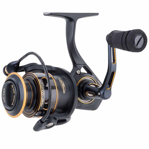"Penn Clash Spinning Reel 5000 Size 5.6:1 Gear Ratio 36"" Retrieve Rate 20 lbs Max Drag Ambidextrous"""