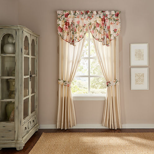 Croscill Classics Colette Rod-Pocket Curtain Panel