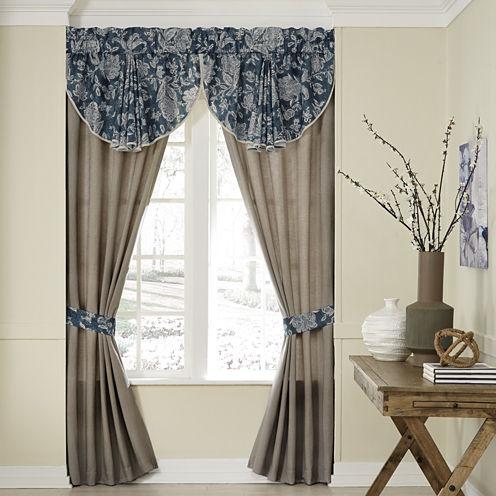 Croscill Classics Gavin Rod-Pocket Curtain Panel