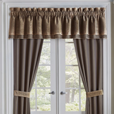 Croscill Classics Benson Rod-Pocket Tailored Valance