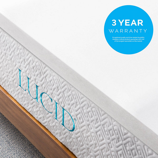 Lucid 2 Inch Foam Mattress Topper