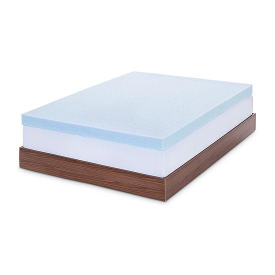 lucid 4 inch memory foam mattress topper Gel Topper lucid 4 inch memory foam mattress topper