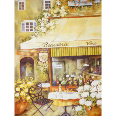 Oriental Furniture Parisian Brasserie Canvas Art