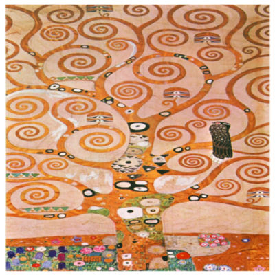 Oriental Furniture Works Of Klimt - Tree Of Life Canvas Art
