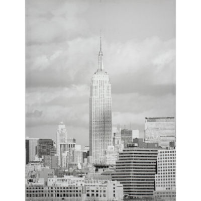 Oriental Furniture Empire State Building Canvas Art