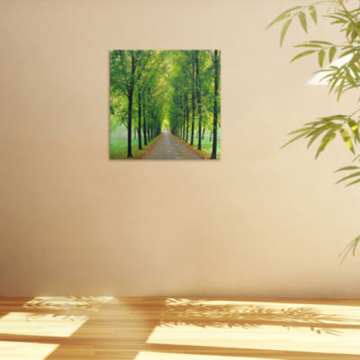 Oriental Furniture Path Of Life Canvas Art