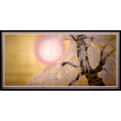 Oriental Furniture Sakura Blossoms Canvas Art