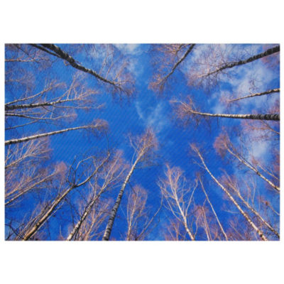 Oriental Furniture Treetops Canvas Art