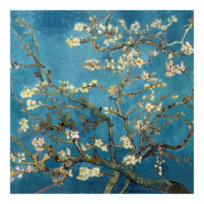 Oriental Furniture Almond Blossoms By Van Gogh Canvas Art