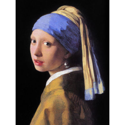 Oriental Furniture Girl With A Pearl Earring By Vermeer Canvas Art