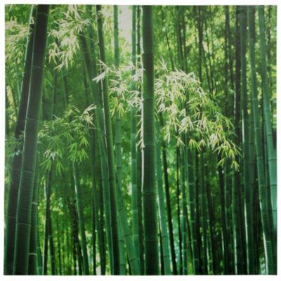 Oriental Furniture Bamboo Canvas Art
