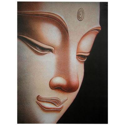 Oriental Furniture Buddha Canvas Art