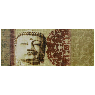 Oriental Furniture Buddha Bust Print