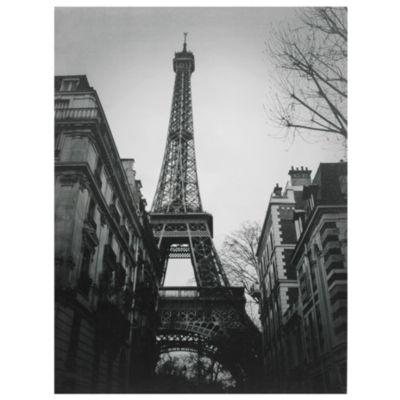 Oriental Furniture Eiffel Tower Sun Glow Classic Print
