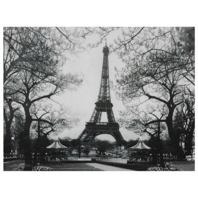 Oriental Furniture Eiffel Tower Park Classic Print