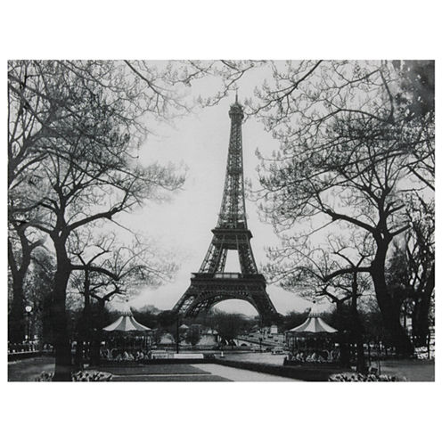 Oriental Furniture Eiffel Tower Park Classic Print