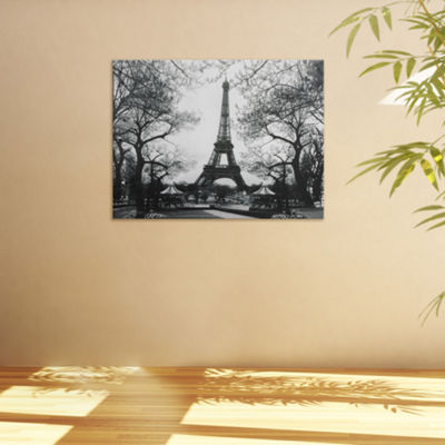 Oriental Furniture Eiffel Tower Park Scenic + Landscape Print