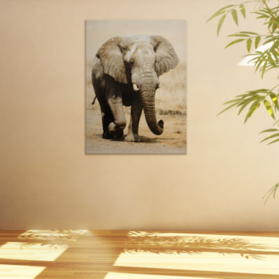 Oriental Furniture Walking Elephant Animals + Insects Print
