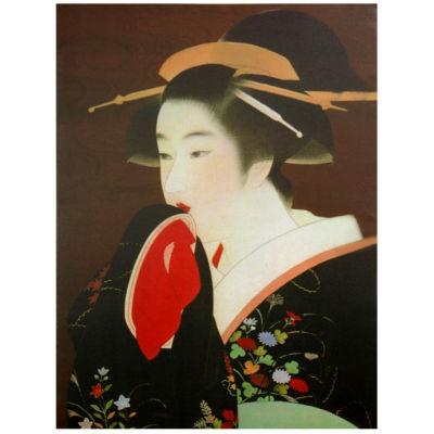 Oriental Furniture Geisha Print