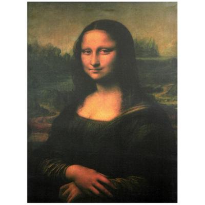 Oriental Furniture Mona Lisa Classic Print