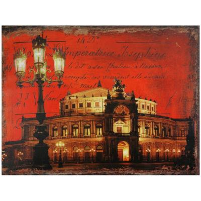 Oriental Furniture German Opera House Scenic + Landscape Print
