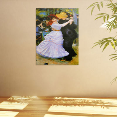 Oriental Furniture Dance At Bougival Scenic + Landscape Print